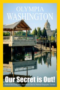 National Geographic Thinks Olympia, WA is one neat small town!